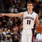 David Stockton in action for Gonzaga University. Photo: Getty Images