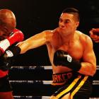 Joseph Parker (R) will fight for the world heavyweight title in Auckland next month. Photo Getty