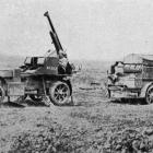One of the British anti-aircraft guns that have played havoc with German aeroplanes on the Somme...