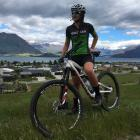 Mount Aspiring College pupil Phoebe Young  is one of 13 young mountain bikers who have been...
