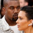 Musician Kanye West and wife Kim Kardashian. Photo: Reuters