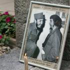 """A portrait of late Cuban leader Fidel Castro and revolutionary hero Ernesto """"Che"""" Guevara. Photo:..."""