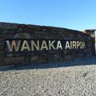 Main entrance, Wanaka Airport. Photo: Mark Price.