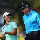 Lydia Ko has split with coach David Leadbetter whom she has been working with since 2013. Photo:...