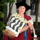 Lynere Wilson will graduate today with a PhD in health sciences. Photo: Linda Robertson.