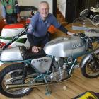 Classic Motorcycle Mecca collection manager Dave Roberts, who has shifted from Nelson with the...