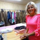 Arrowtown designer Claire Brinsley has a passion for fashion. Photo by Tracey Roxburgh.
