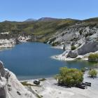 The Blue Lake at St Bathans. Photo ODT