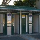 Three public toilets outside the Balclutha War Memorial Hall are to be upgraded. Photo by Helena...