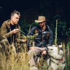 Outdoor survivalists Greg Emerson (left) and Ben Logan,  of Wanaka company New Age Primal,  will...
