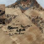 The handkerchief carried by Otago soldier George Uren, who was killed at Gallipoli. Photo: Supplied