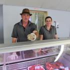 Husband and wife Vaughn and Shelley Wesselson have just opened a butchery in Tapanui. Photo by...