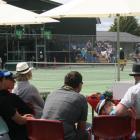 IMG 6546: Courtside at the Distinction Hotels Te Anau Tennis Invitational at the Te Anau Tennis...