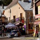 Sebastien Ogier in action during the Monte Carlo Rally. Photo Getty