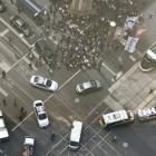 Melbourne Bourke St mall crash. Photo: Twitter