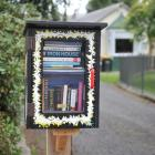 Outram's first free Lilliput Library has recently been set up in Hoylake St. Photo by Christine O...