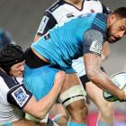 Patrick Tuipulotu in action for the Blues last year. Photo: Getty Images