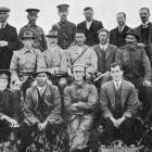 The executive of the Southland Rifle Association. Back row (from left): vice-president Todd,...