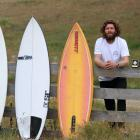 Landlocked surfer John Klevstul, of Bannockburn, is not disheartened by his proximity to the...