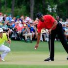 Rory McIlroy (left) and Tiger Woods are both involved in the story lines to follow as the new...