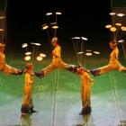 Wuhan acrobats will perform some of their daring acts in Dunedin tonight. Photo supplied.