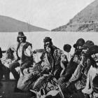 A scene on the Danube, showing a picturesque group of Gypsies. — Otago Witness, 7.2.1917.
