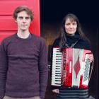 Indie-folk music outfit Grawlixes (Robin Cederman and Penelope Esplin) will play at Dog with Two...