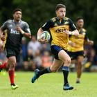 Beauden Barrett in action for the Hurricanes against the Crusaders during a the Super Rugby pre...