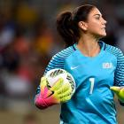 US women's goal keeper Hope Solo. Photo: Getty Images
