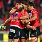 The Lions loom as the biggest threat of the South African Super Rugby sides once again. Photo:...