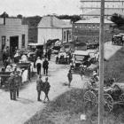 The arrival of a party of Parliamentarians at Kaitaia during a tour of the north. - Otago Witness...