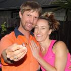 Julian Fuchs found his missing wedding ring using a metal detector, much to wife Sarah's delight....