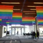 The Otago Polytechnic is flying the rainbow flag to after gaining Rainbow Tick certification....