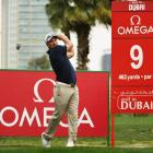 Ryan Fox is tied for 8th and is three shots off the lead after round one of the Omega Dubai...