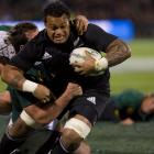 Lauaki played 17 tests for the All Blacks between 2005 and 2008. Photo: ODT