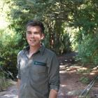 DoC ranger Shay van der Hurk is helping gather data on walking tracks around Dunedin, including...