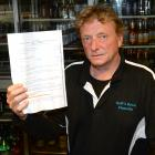 Heffs Hotel publican Stephen Clark says he has been unfairly targeted by police. Photo: Linda...