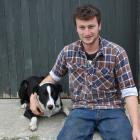 Te Rae Genetics owner Chris Wilson, flanked by dog Scott, reflects on his journey taking on his...