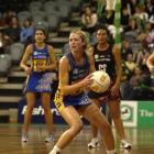 Otago Rebels centre Debbie White in action against the Waikato-Bay of Plenty Magic at the Edgar...