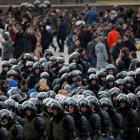 Russian police detained hundreds of anti-corruption protesters. Photo: Reuters