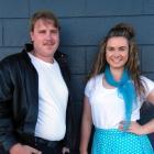 Alexandra Musical Society Grease director Matt van den Yssel and choreographer Danika Gilbert...