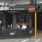 Alibi bar and restaurant in the Octagon  is due to close next month. Photo: Gerard O'Brien.