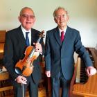 Sydney Manowitz (left) and Donald Cullington will perform during the Fringe Festival. Photo:...