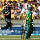In-form all rounder Colin de Grandhomme retained his spot in the line-up for the fourth ODI....