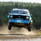 Irishman Frank Kelly, who will contest the Classic Rally of Otago next weekend in his Ford Escort...