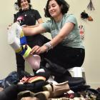 Dunedin Fringe Festival performance art workshop Frankenfoot — The Redux co-collaborators Louise...