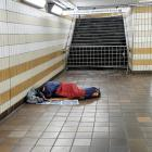 England's housing policies are supporting a rise in homelessness a report says.