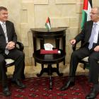 Meeting Palestinian Prime Minister Rami Hamdallah. Photo: supplied.