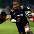 Patrick Osborne on the run for the Highlanders against the Brumbies last year. Photo: Getty Images