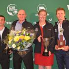 The winners in the West Coast-Top of the South New Zealand Dairy Industry Awards are (from left)...